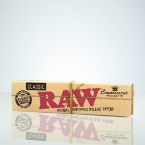 RAW Classic, Connoisseur Kingsize Slim + Tips