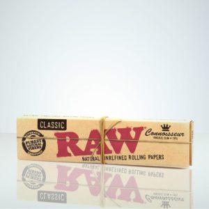 RAW Classic, Connoisseur Kingsize Slim + Tips