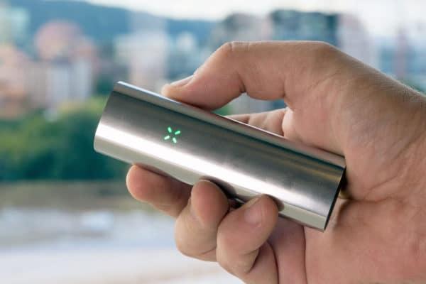 PAX 3, vaporizer, silver