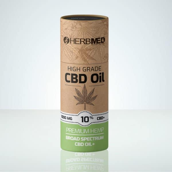 Herbmed High Grade CBD oil 10% THC-free