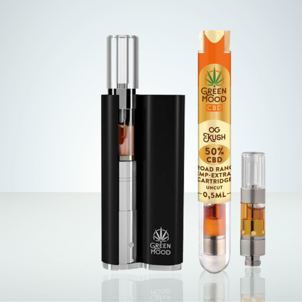 Green Mood Vave starter kit with CBD Cartridge at Herbmed